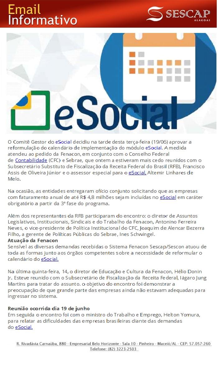 iNFORMATIVO E-SOCIAL